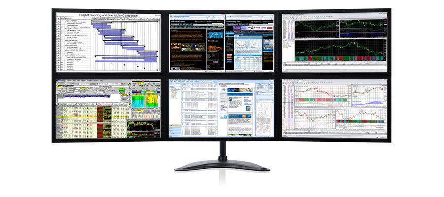 Zenview Command Center 22 Six Monitor 21 5 1080p
